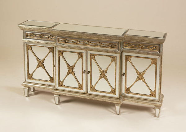 Emile Narrow Mirrored Console