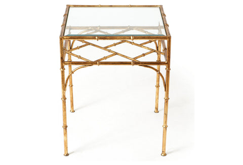 Lena Bamboo Side Table