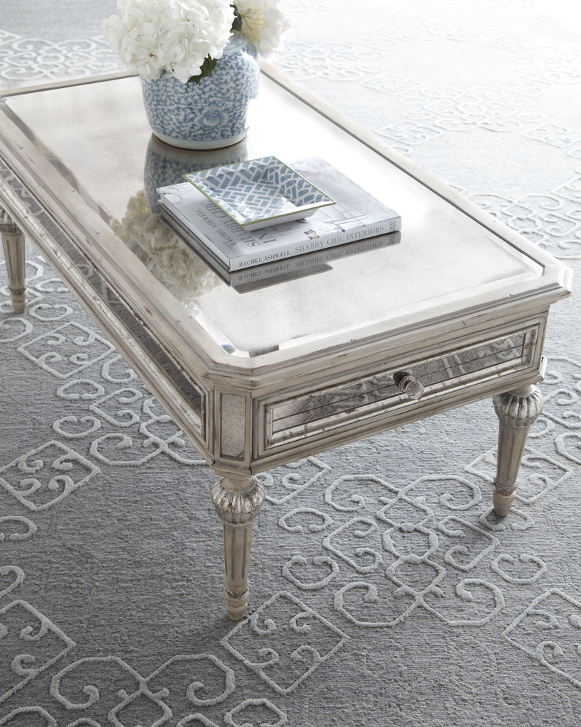 Loren Mirrored Cocktail Table