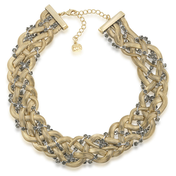 Braided Collar Necklace