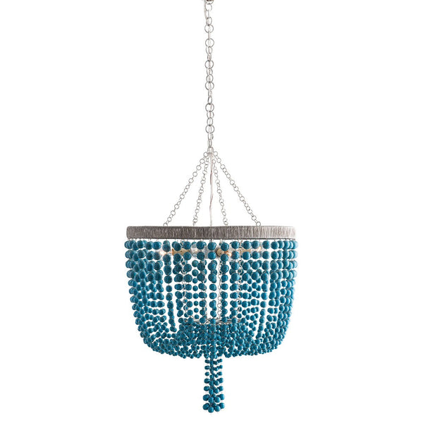 Roselle Turquoise Chandelier