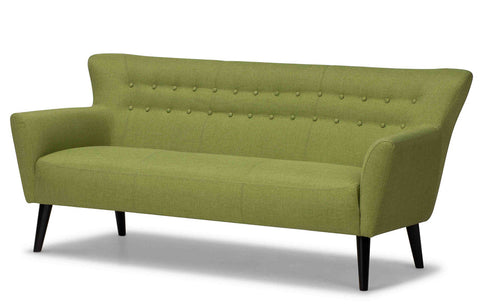 Betty 1950's Sofa in Lime