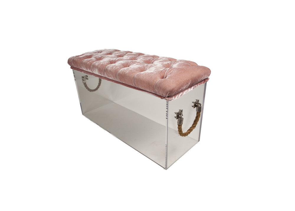 Skinny Bella Bench with Cushion