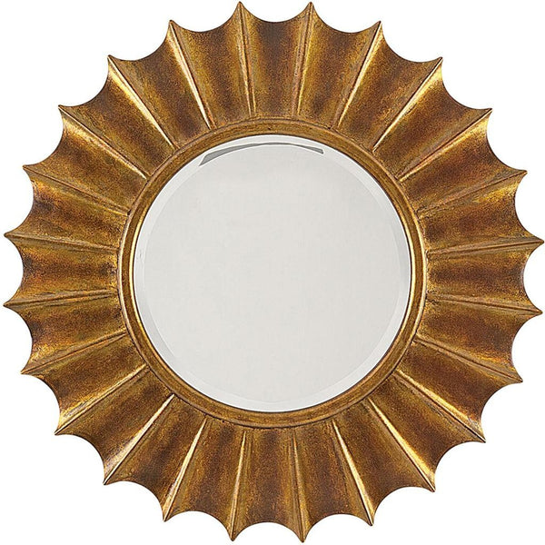 Solstice Gold Mirror