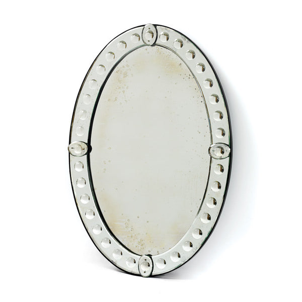Victoria Antiqued Venetian Mirror