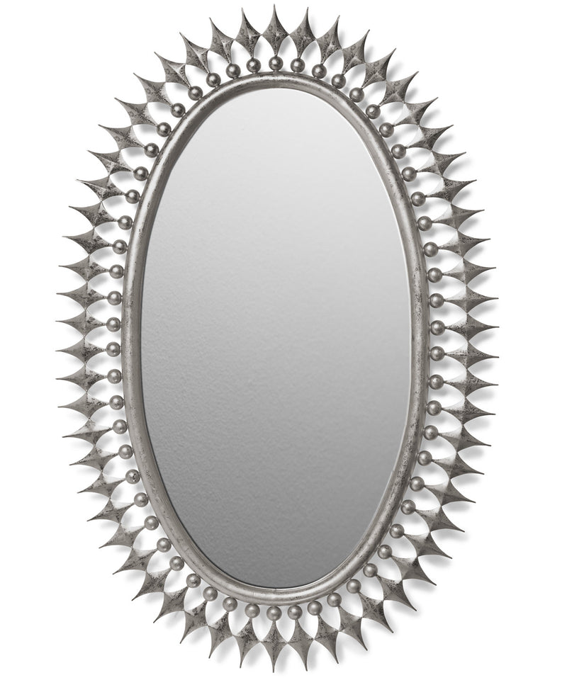 Wellington Mirror in Silver