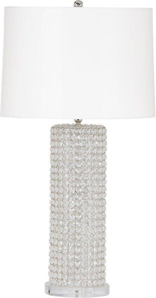 Harlow Crystal Column Lamp