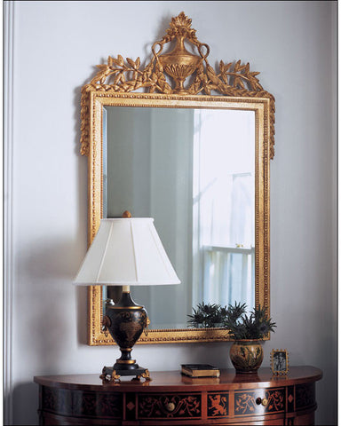 Empire Style Goldleaf Mirror