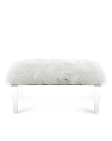 Grace Sheepskin Bench