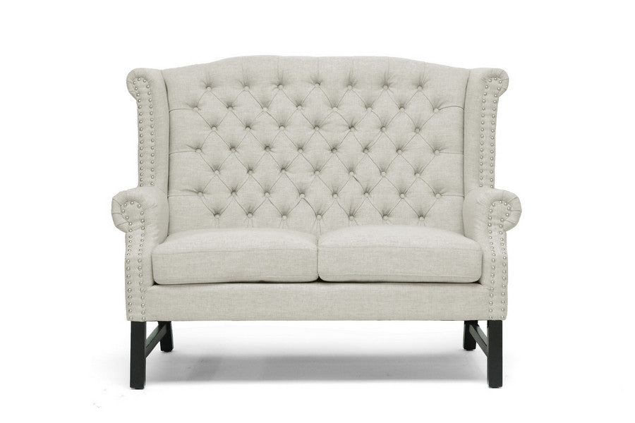 Beverly Tufted Sofa Set