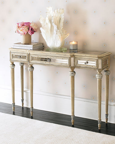 Loren Mirrored Console