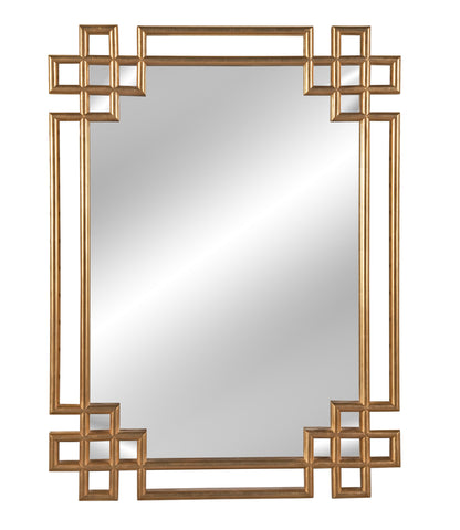 Alexandra Gold Leaf Mirror
