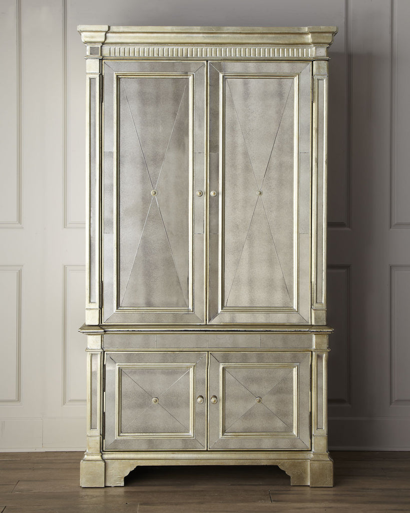 Borghese Mirrored Armoire