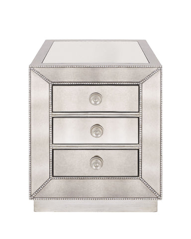 Marissa Mirrored End Table