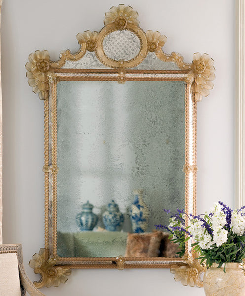 Noelia Antiqued Venetian Mirror