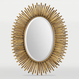 Sole Gold Fringe Mirror