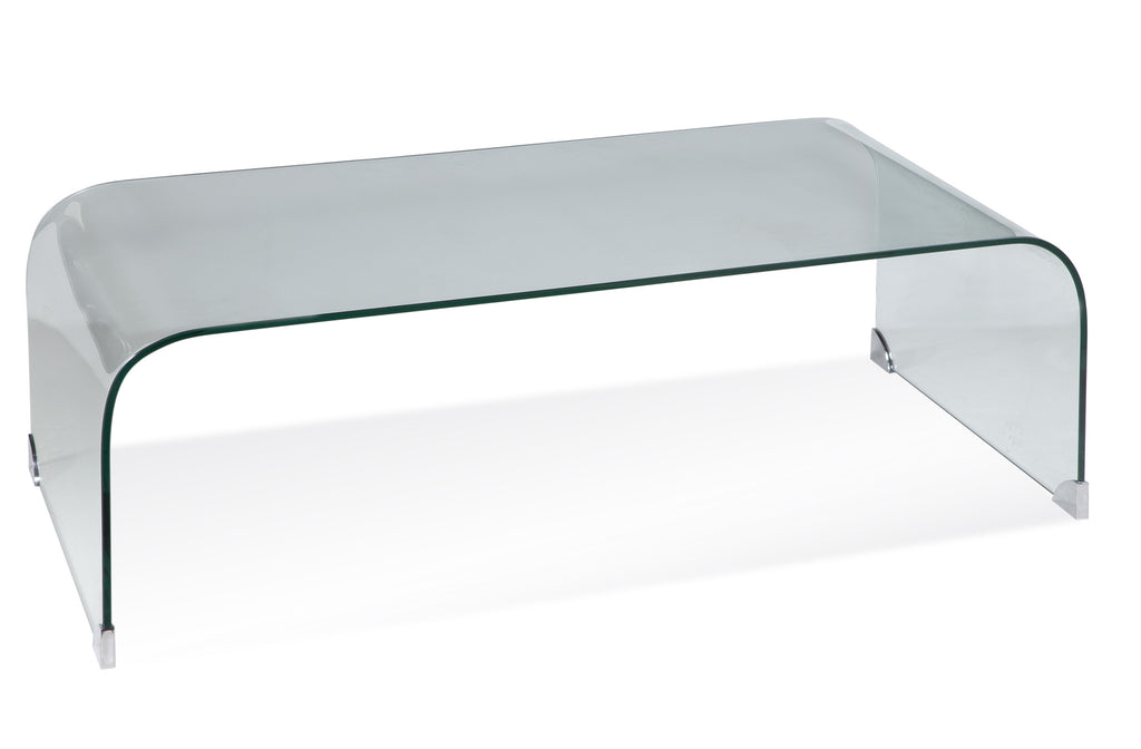 Beah Glass Cocktail Table