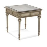 Palazzina Mirrored End Table