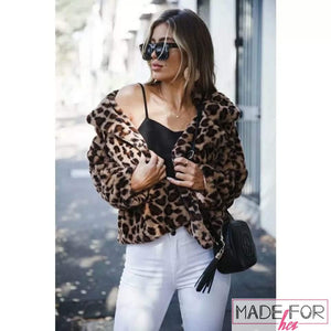 Ankita Sharma In Our Leopard Furr Coat - Made For Her Label