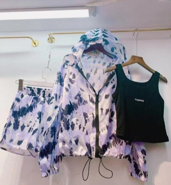 Tie and Dye Three Piece Set
