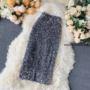 Gloria Sequin Skirt