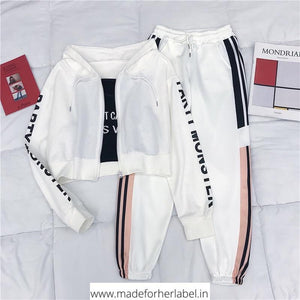 Vegan Three Piece Tracksuit - Made For Her Label