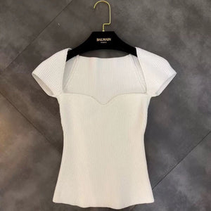 Harlow Ribbed Top