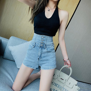 Emica High Waisted Shorts