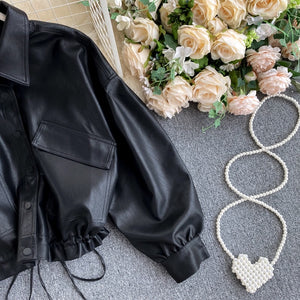Derya Leather Jacket