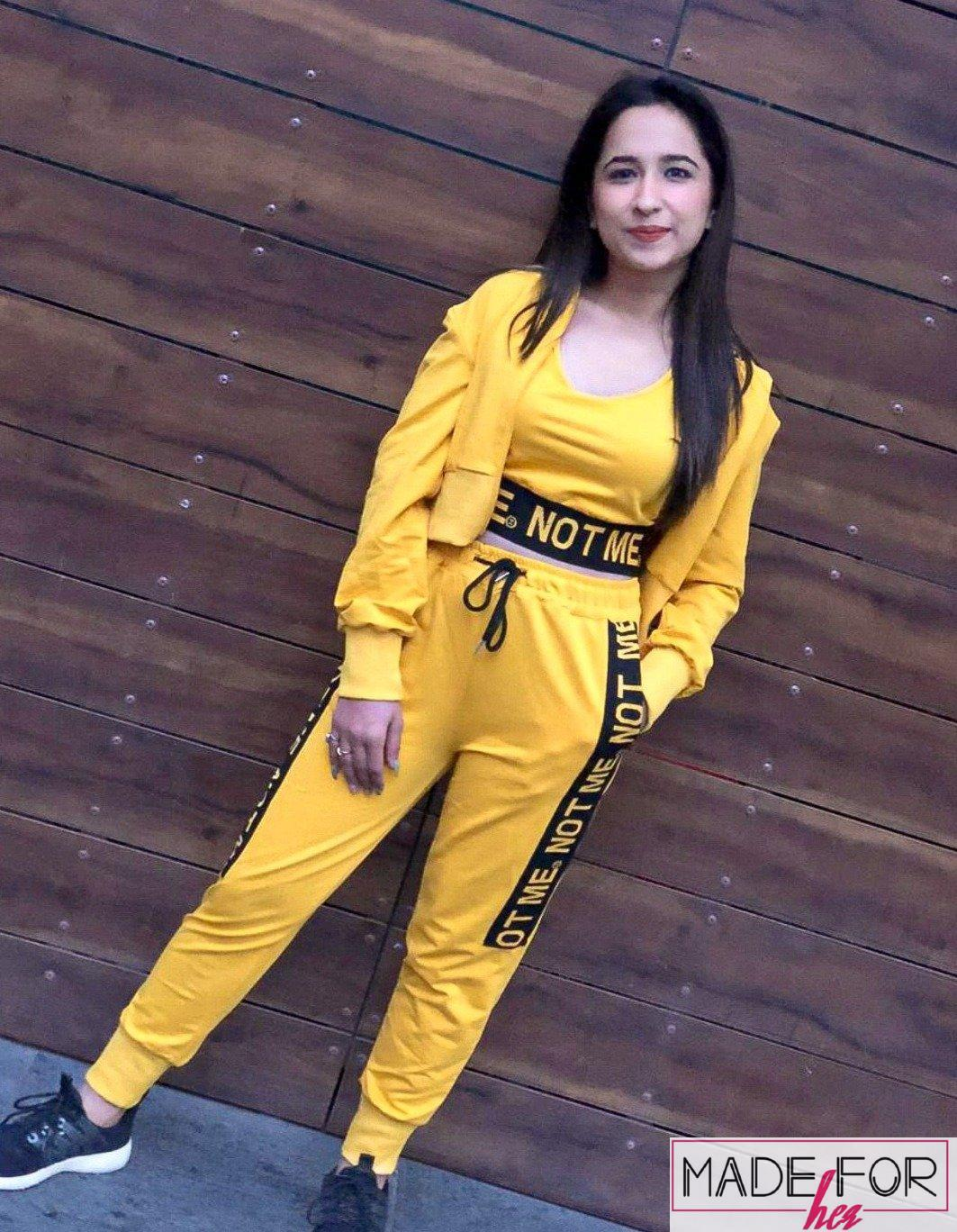 Upasana In Our Parker 3 Piece Tracksuit - Made For Her Label