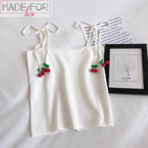 Cherry Cami Top - Made For Her Label