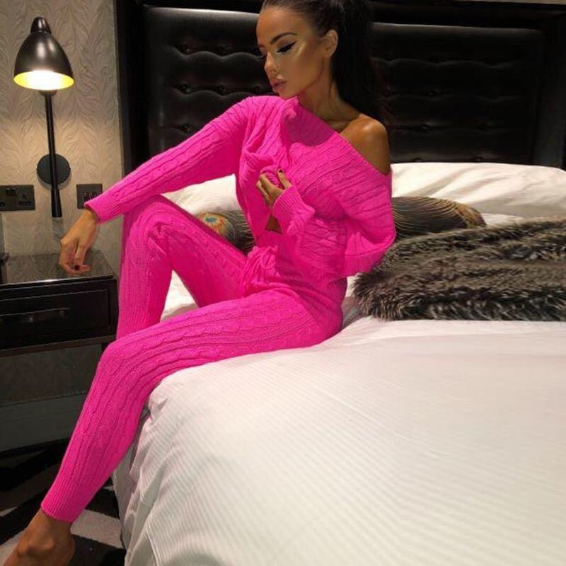 Mehak Sethi In Our Stacy Woollen Tracksuit