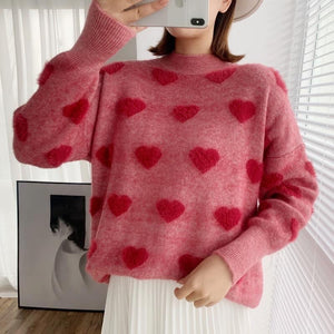 Aakriti Rana In Our  Heart Pullover - Made For Her Label