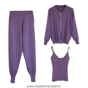 Katie Three Piece Tracksuit - Made For Her Label