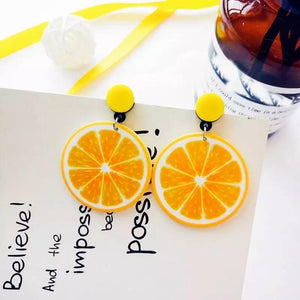 Lemon Drop Earrings - Made For Her Label