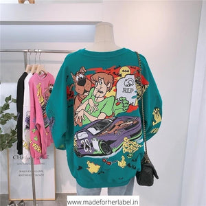 Cartoon Pullover - Made For Her Label