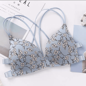 Cute Prints Pushup Bralette - Made For Her Label