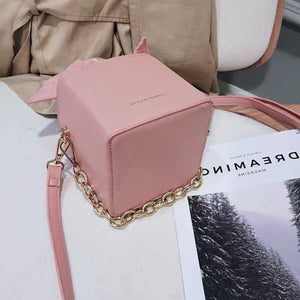 Bow Tie Square Crossbody Bag - Made For Her Label