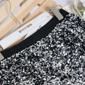 Nora Sequin Skirt