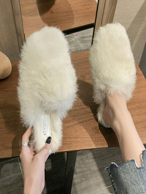 Flock Fur slipper