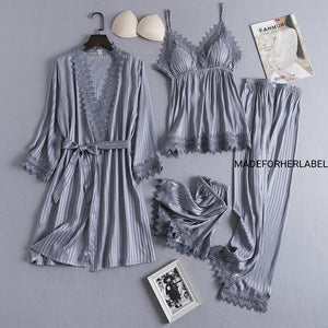 Amira Four piece Nightwear Set