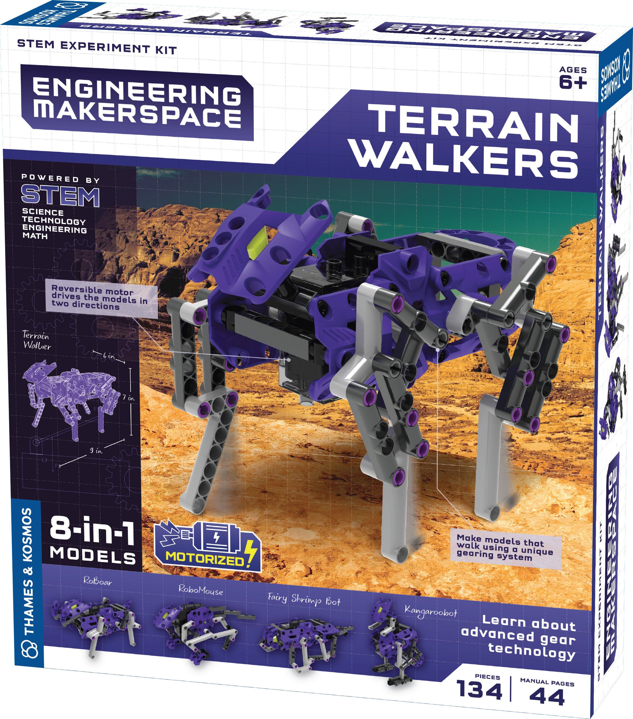 Engineering Makerspace - Terrain Walkers