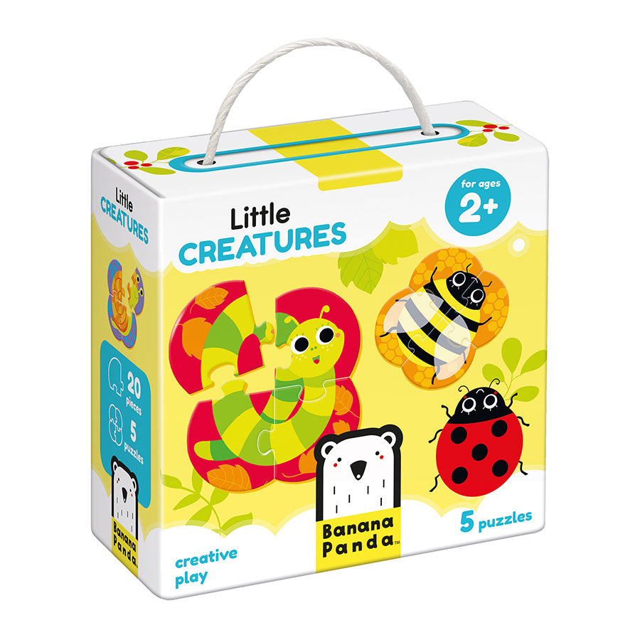 Little Creatures Puzzle Set