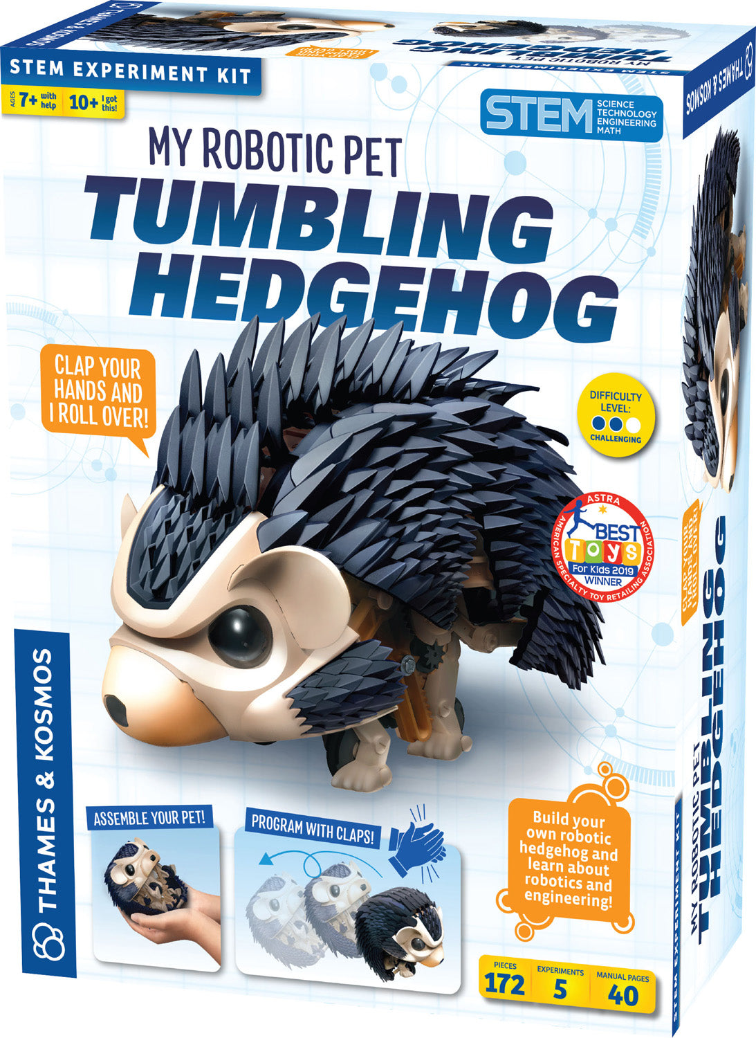 My Robotic Pet-Tumbling Hedgehog