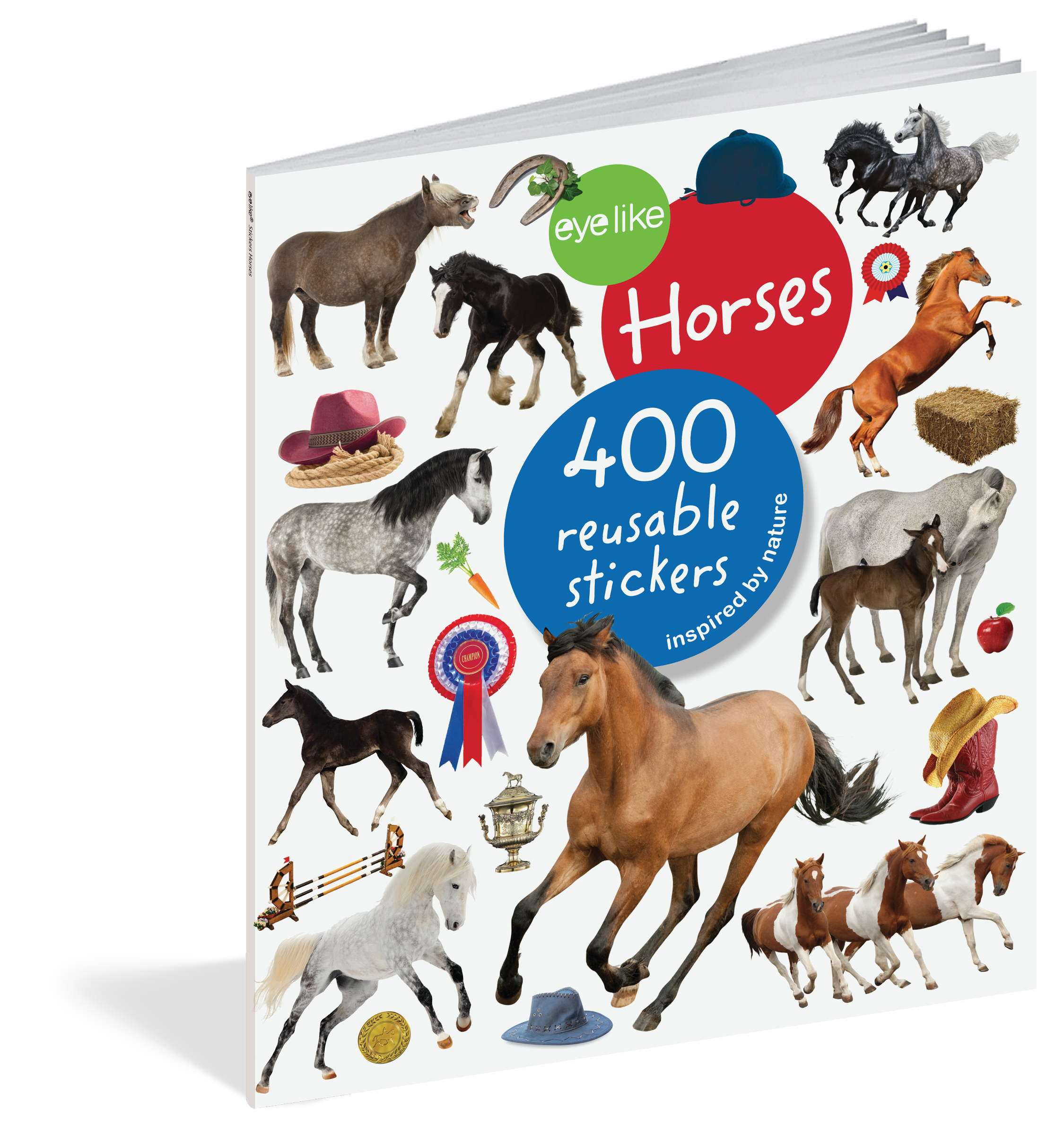 Sticker Book - Horses