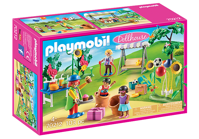 Playmobil Dollhouse - Children's Birthday Party