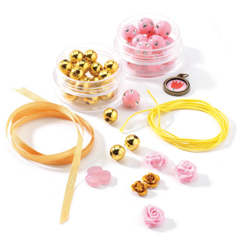 Beads & Flowers Jewelry Kit
