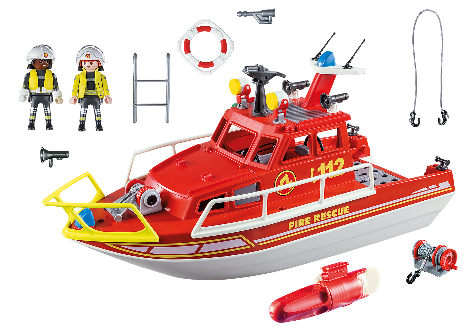 Playmobil City Action - Fire Rescue Boat