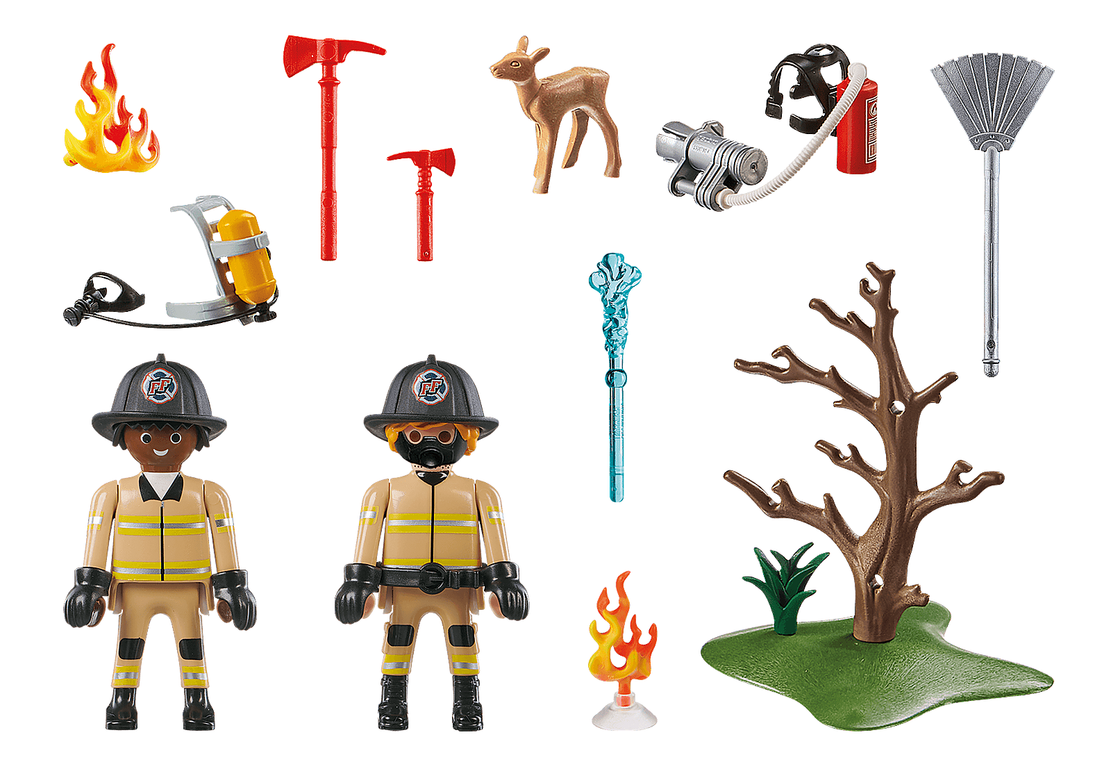 Playmobil Rescue Action - Forest Fire Squad