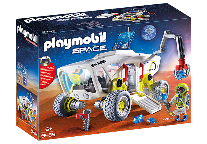 Playmobil Space - Mars Research Vechicle